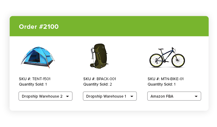 BigCommerce dropship management platform